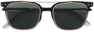 Bottega Veneta square frame bar sunglasses