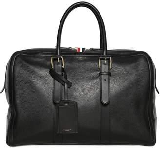Thom Browne Pebbled Leather Duffle Bag