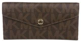 Michael Kors Monogram Continental Wallet