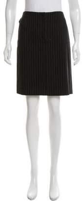 Barbara Bui Pinstripe Knee-Length Skirt