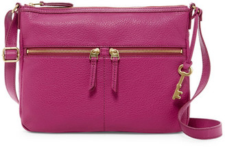 Fossil Erin Leather Crossbody $168 thestylecure.com