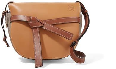 Loewe Gate Color-block Leather Shoulder Bag - Tan
