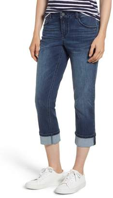 Wit & Wisdom Stretch Cotton Cuffed Jeans (Nordstrom Exclusive)