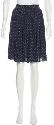 Jean Paul Gaultier Printed Knee-Length Skirt
