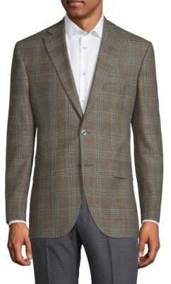 Jack Victor Conway Plaid Jacket
