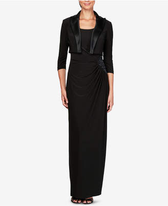 Alex Evenings Embellished Sleeveless Gown & Bolero Jacket