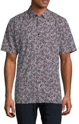 Zanerobe Foliage Short-Sleeve Shirt