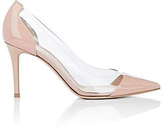 Gianvito Rossi Women's Vernice Patent Leather & PVC Pumps - Pink