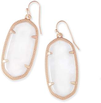 Kendra Scott Elle Drop Earrings in Rose Gold