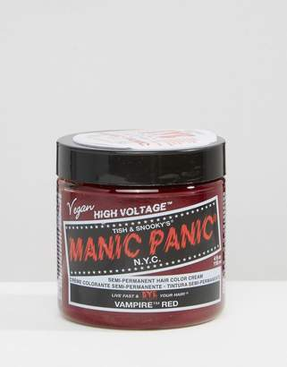 Manic Panic NYC Classic Semi Permanent Hair Color Cream - Vampire Red