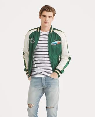 Ralph Lauren Satin Souvenir Jacket