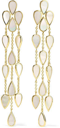 Ippolita Rock Candy 18-karat Gold Mother-of-pearl Earrings - one size