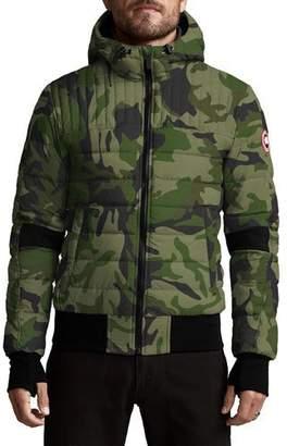 Canada Goose Men's Cabri Quilted Hoodie Jacket