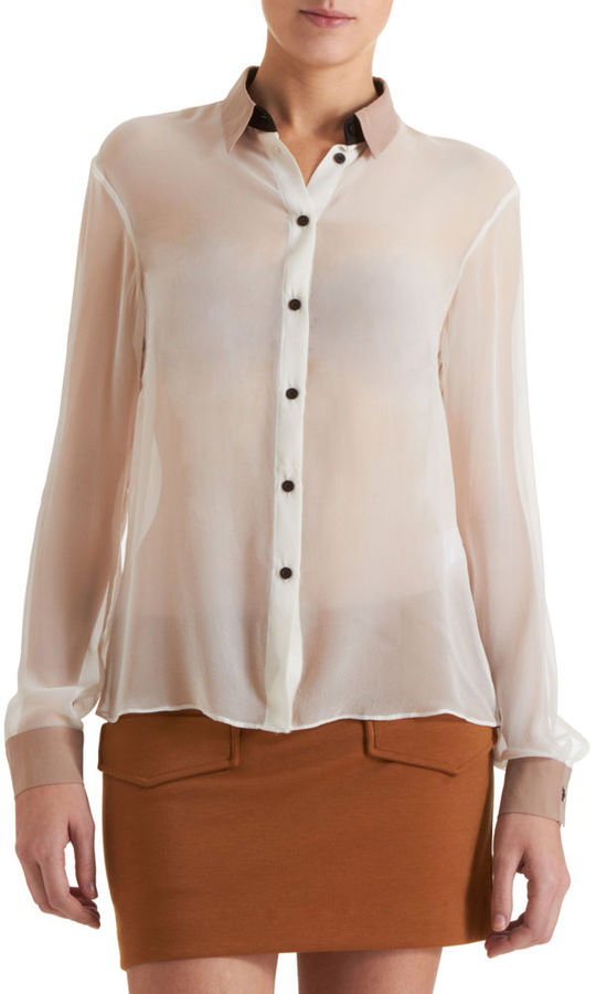 Antipodium Sheer Blouse