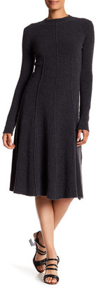 BOSS HUGO BOSS Felisana Wool Blend Dress $625 thestylecure.com