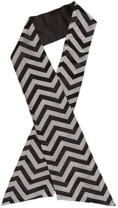 Gucci Black Silk Scarves