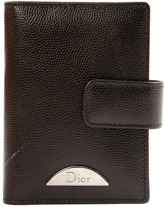 Christian Dior Leather card wallet