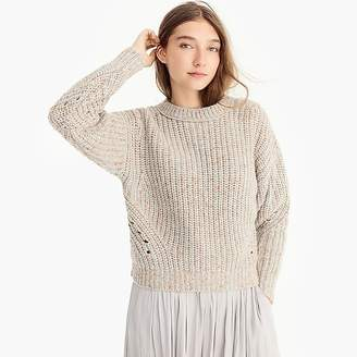 Point Sur chunky ribbed crewneck sweater