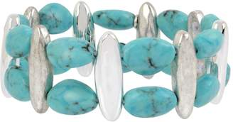 Robert Lee Morris Turquoise Stretch Bracelet