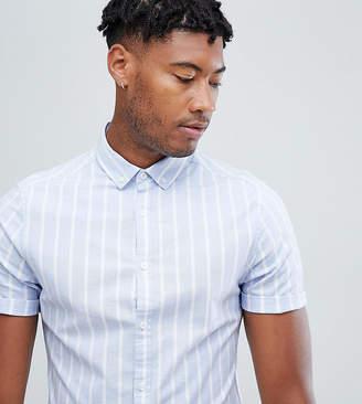 Mens Blue Striped Oxford Shirts Shopstyle Uk
