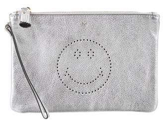 Anya Hindmarch Smiley Leather Pouch