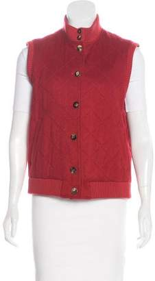 Loro Piana Cashmere Button-Up Vest