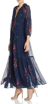 Joie Saffrona Floral-Print Maxi Dress