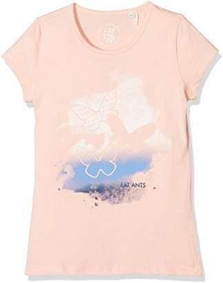 Sanetta Girl's 124777 T-Shirt, (Sweet Pink 38051)