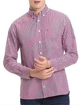 Tommy Hilfiger Wcc Multi Color Gingham Shirt