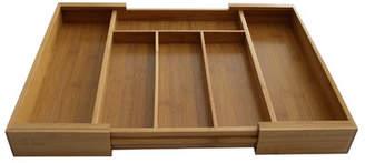 Brayden Studio Expandable Bamboo Drawer Organizer Tray