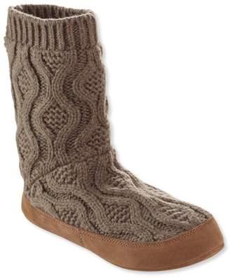 L.L. Bean L.L.Bean Slipper Sock, Cable Knit