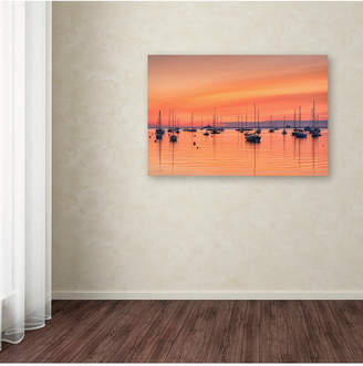 Michael Blanchette Photography 'Pastel Harbor' Canvas Art