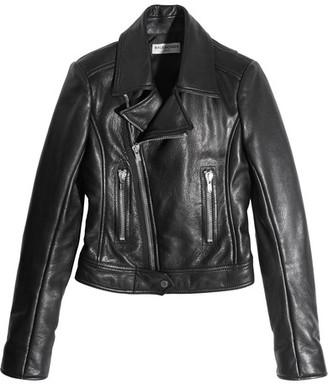 Balenciaga - Leather Biker Jacket - Black $2,745 thestylecure.com