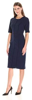 Maggy London Women's Dream Crepe Sheath with Elbow Sleeve $130.50 thestylecure.com