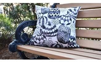 The Holiday Aisle Maser Pumpkins Galore Halloween Outdoor Throw Pillow