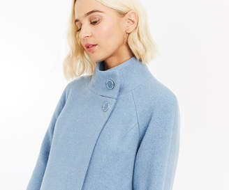 Oasis ASH FUNNEL NECK COAT
