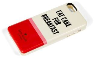 Kate Spade Eat Cake for Breakfast Self Charging iPhone 5 Case