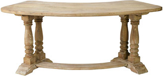 One Kings Lane Aimee Demilune Desk - Weathered Natural