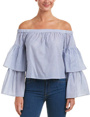 BCBGMAXAZRIA Off-The-Shoulder Top
