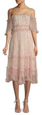Love Sam Sadie Floral Off-The-Shoulder Dress