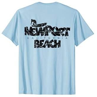 Newport Beach Surf T-Shirt (Back)