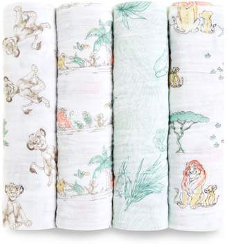 Aden Anais Aden & Anais The Lion King Swaddles (Pack of 4)
