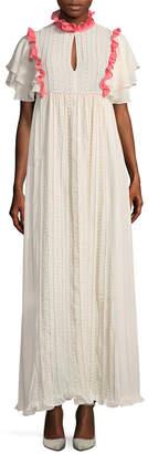Manoush Longue Ruffles Dress