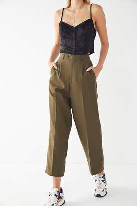 Urban Renewal Vintage High-Rise Cropped Trouser Pant