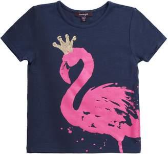 Imoga Girl's Amita Tee - Flamingo
