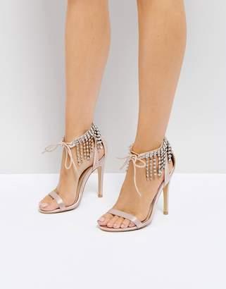 Truffle Collection Wedding Embellished Heeled Sandals