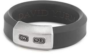 David Yurman Men's Hex Band Ring in Gray