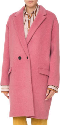 Isabel Marant Filipo Double-Breasted Wool-Cashmere Coat
