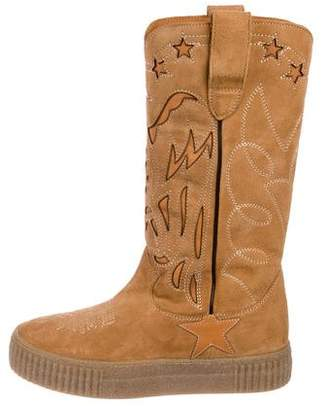 Golden Goose Suede Mid-Calf Boots w/ Tags