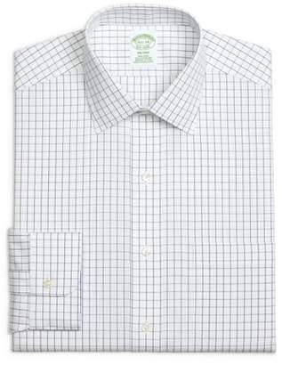 Brooks Brothers Trim Fit Check Dress Shirt